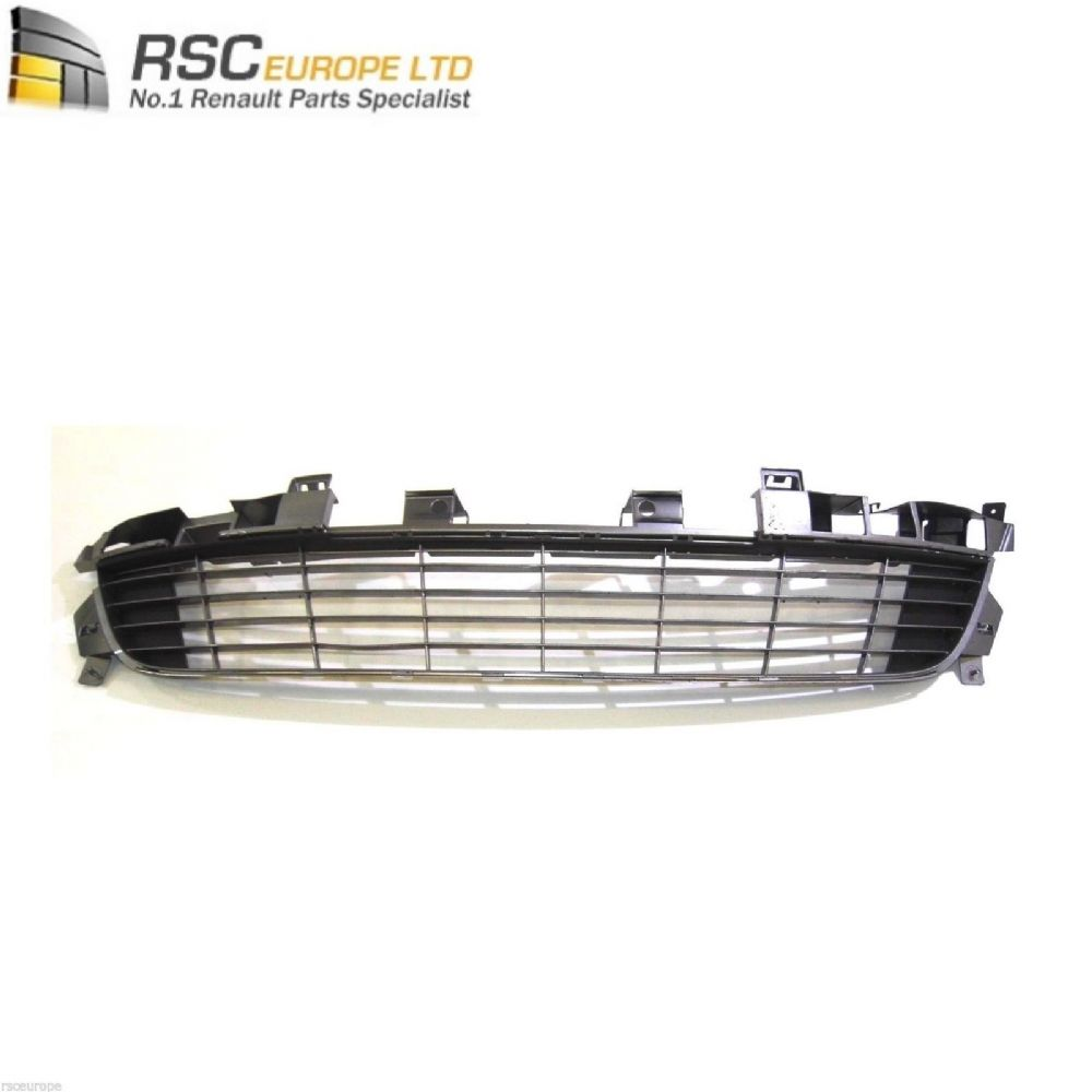 RENAULT GRAND SCENIC FRONT BUMPER GRILLE (NO PARKING SENSORS) GREY 622540016R